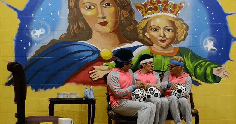 El ensayo, una comedia con «tres viejas»