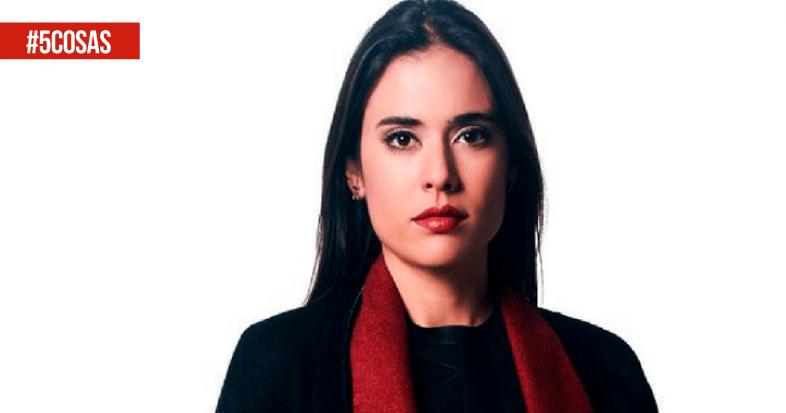 5 cosas que no sabías de Carolina Ramírez